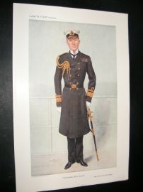 Vanity Fair Print 1909 Sir Colin Richard Keppel